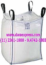 Sacos big bag de rafia usados