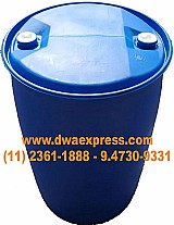 Bombonas de plastico de 200 litros usadas tampa fixa