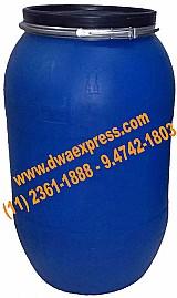 Bombonas de plastico de 240 litros usadas  de azeitonas
