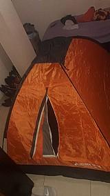 Barra de camping usada