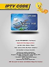 Iptv code a solução p sua smart tv/tv box, tablet, smartphone etc...planos 30/90 e 180 dias