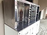 Maquina de shawarma(churrasco grego)
