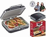 Hairy bikers hb5020 ceramic health grill e panini press with