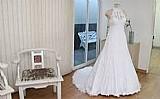 Fundo de loja de noiva