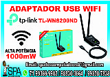 Adaptador wifi tp-link tl-wn8200nd novo em salvador ba