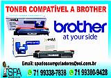 Cartucho novo para toner impressora brother em salvador ba