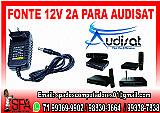 Fonte nova de energia 12v-2a para aparelho audisat em salvador ba