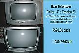 Duas televisoes