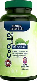 Coenzima coq10 - 100 mg - 90 cap. - poderoso antioxidante