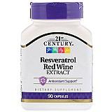 Resveratrol extrato de vinho tinto 90 capsulas