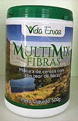 Multimix 500g regulador intestinal fibra alimentar