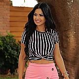 Blusa feminina cropped blogueiras (promocao)