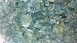 Águas marinhas azul bruta lote exclusivo 400 gramas