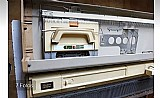Maquina de tricô e croche elgin 840