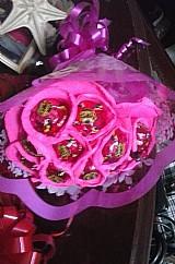 Bouquet de bombons