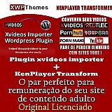 Plugin xvideos importador automatico de videos site adulto