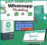 Whatsapp kit 2 em 1 - 2 softwares 2019 envio de mensagens em massa