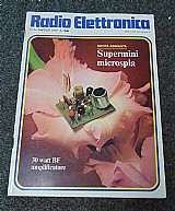 Colecao de revistas de eletrônica radio elettronica.- 093 -