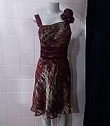 Lindo vestido vermelho com detalhe na alca  tamanho 48 - roxi brecho