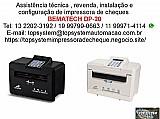Bematech dp-20 impressora de cheques assistencia em sao paulo