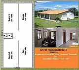 Casa concreto pre fabricado 45m/2 com mao de obra