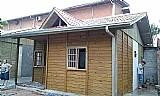 Casa de madeira pre-fabricada de 42m/2   mao de obra