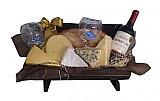Cestas de queijos e vinho na santa paula-frete gratis (11) 2606-0490