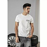 Camiseta simwood 2019 verao novo t shirt homens fahion voltar imprimir 100% algodao tshirt engracado design de alta qualidade do vintage plus size 190237
