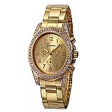 Relógio tempo zero 501 2019 vente moda relogio de pulso das senhoras da menina das mulheres de quartzo do aco inoxidavel relogio de pulso relogios de luxo frete gratis
