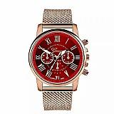 Relógio tempo zero 501 2019 novo luxo aco inoxidavel dial couro banda relogio de pulso de quartzo esporte militar colocar caso quente gratuito gratis