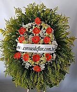 Coroas de flores entrega em funeraria