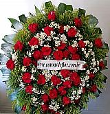 Entrega de coroa de flores em funerarias