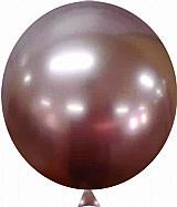 Bexiga metalizada n°9 happy day c/25 unid - varias cores