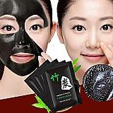 Mascara de rosto carvao de bambu cravo remover facial mascaras mascaras de limpeza profunda purifying peel off black facail nud