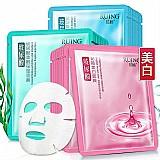 Ácido hialurônico máscara facial  2019 nova 1 pc mascara hidratante ácido hialurônico mascara facial cuidados com a pele planta facial refrescante controle de óleo cuidados com o rosto 0000