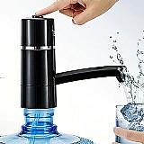 Dispenser portatil para garrafao de agua 6 litroscom bomba eletrica recarregavel