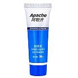 Espuma de barbear apache 30g água deionizada para todos os tipos de pele
