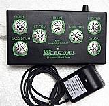 Kit bateria eletrônica de dedo / mao ehd-1 dos anos 80