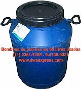 Bombonas de plastico de 50 litros usadas