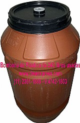 Bombonas de plastico de 240 litros usadas (11) 2361-1888