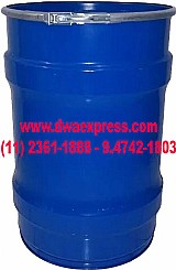 Tambor de metal de 50 litros usados