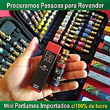 Kit c/ 10 mini perfumes importados frete gratis,  com nota fiscal