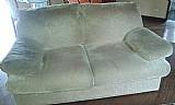 Sofa cama 2 lugares beje bem conservado