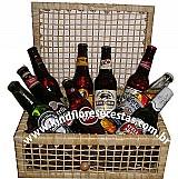 Cesta de cervejas - bau carinho - cod. 3144734