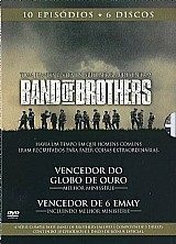 Band of brothers em dvd - 10 episodios - original na caixa