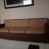 Sofa 2 e 3 lugares de fibra sintetica
