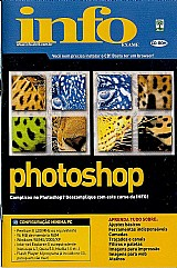 Vendo videocurso de photoshop em cd-rom original infoexame.