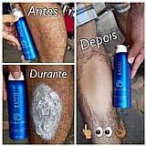 Mousse spray depeeling racco  produto pra depilacao