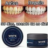 Branqueador dentes carvao em po ativado teeth whitening original
