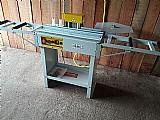 Coladeira de bordas idea com mesa de roletes